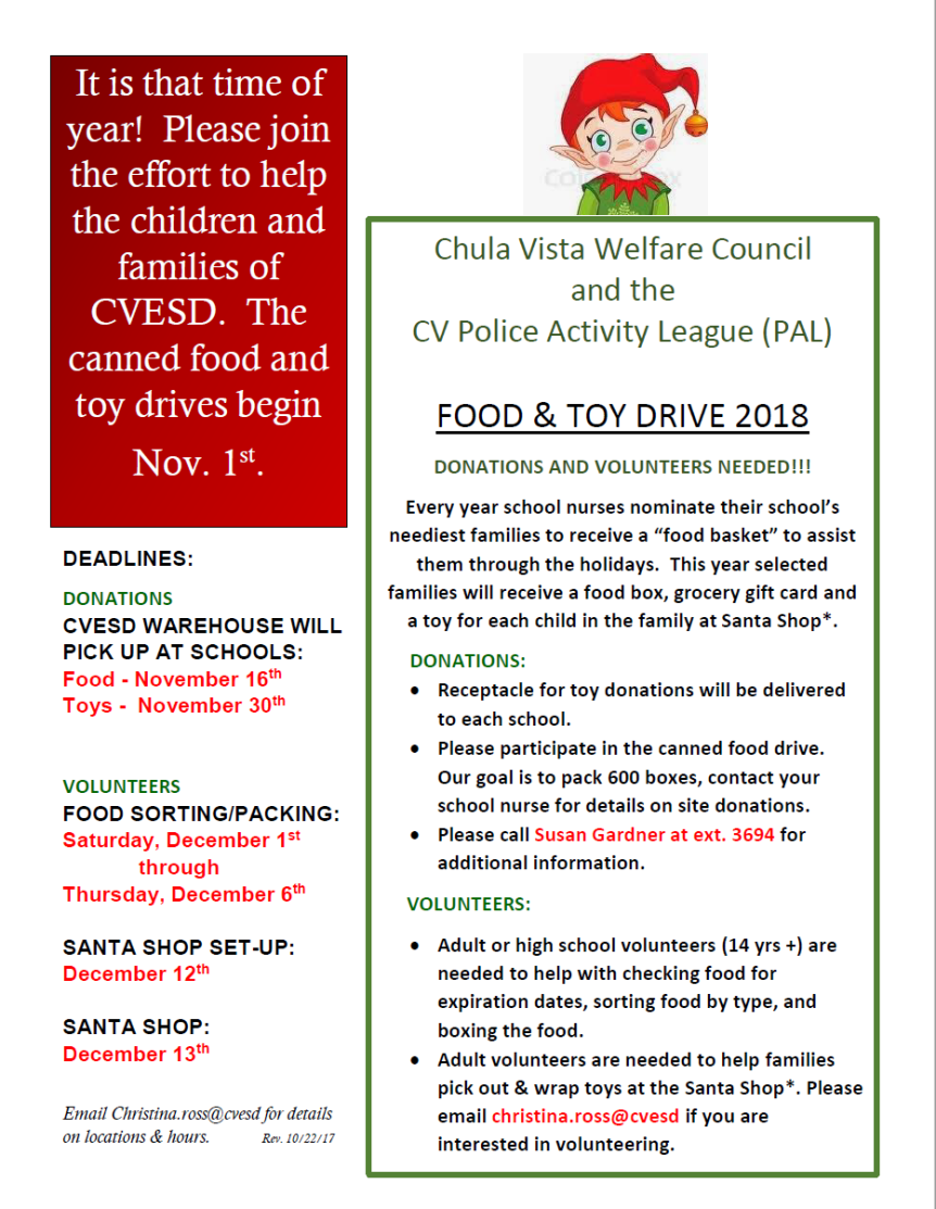 Food & Toy Drive